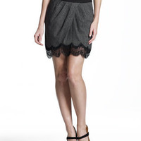 Crossover Lace Skirt - Fashion Bottoms - APPAREL - Jessica Simpson Collection