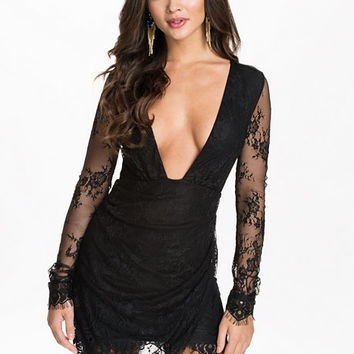 Lace Wrap Dress, NLY One