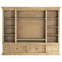 Natural wood bookcase  Passy