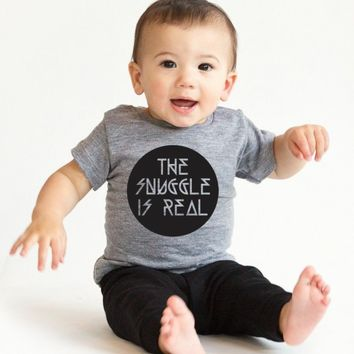 The Snuggle is Real | CrazyDog T-shirts