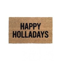 Happy Holladays Doormat