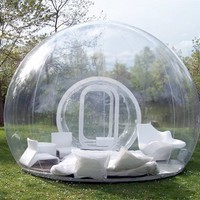 GB01 PVC Advertising inflatables / inflatable clear tent / Clear Prefab Bubble Tents / inflatable globe tent + Repair Kits-in Advertising Inflatables from Industry &amp; Business on Aliexpress.com