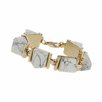 Angled Stone Bracelet - View All - New In This Week - New In