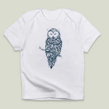 Snow Owl Infant T-Shirts by loujah on BoomBoomPrints