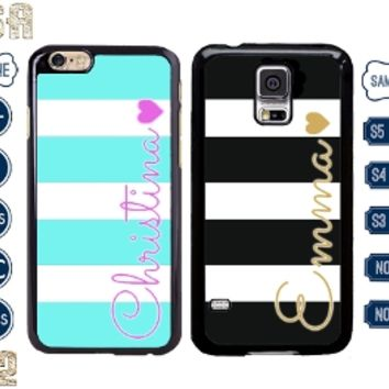 personalized name iPhone 5 case Samsung Galaxy note 4 Cover 4S 5C S5 S4 S3