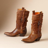 LUCCHESE SLOUCH BOOTS - Fall Favorites - Footwear & Bags | Robert Redford's Sundance Catalog