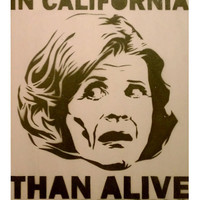 LUCILLE BLUTH: Dead in California Arrested Development Original Artwork