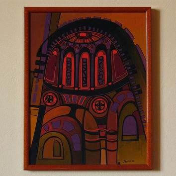 FLAME - Original painting from the cycle ARCHES