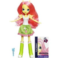 My Little Pony Equestria Girls Collection Fluttershy Doll - Walmart.com