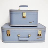 Mid-Century Lady Baltimore Suitcase