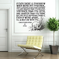 Vinyl Wall Decal Sticker Art I&#x27;ll Always Be by wordybirdstudios