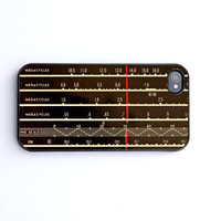 iPhone 4 Case, iPhone case, ham radio, amateur radio, skin, cover, plastic  iPhone 4s case, vintage shortwave radio, iPhone cover, CQ
