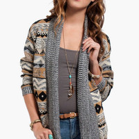 Tribal Pursuit Cardigan $50