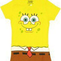 Spongebob Squarepants Costume Baby Doll Tee by Stylin Online - Teenormous.com