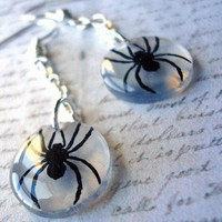8 legged  little dangler earrings
