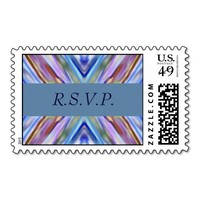 Watercolored - Brightly Colored Abstract - RSVP