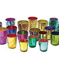 Colored Glass Cups | Pieces