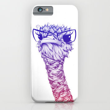 Ostrich Colors iPhone & iPod Case by LouJah