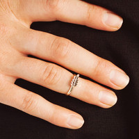 feather-midi-ring GOLD - GoJane.com