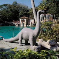 Boris the Brontosaurus Garden Sculpture - NG32470                    - Design Toscano