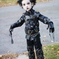 Mini Scissorhands.