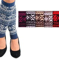 1 PAIR WINTER LEG WARMERS #W2