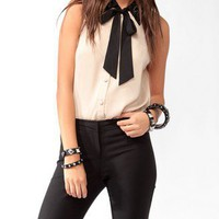 Bejeweled Collar Shirt