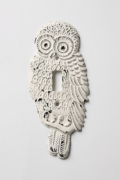 Hoot, Hoot Switchplate, Single - Anthropologie.com