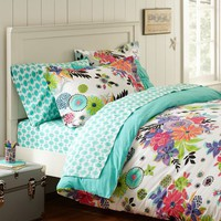 Tropical Garden Duvet Cover & Sham