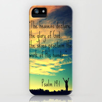 God&#x27;s Handiwork iPhone Case by Caleb Troy | Society6