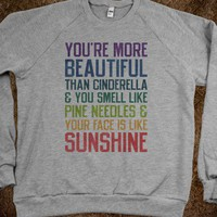 You're More Beautiful (Sweater)