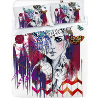 DENY Designs Home Accessories | Holly Sharpe Tribal Girl 1 Sheet Set