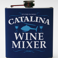Step Brothers. Catalina Wine Mixer. Hip Flask