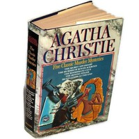 Agatha Christie Five Classic Murder Mysteries 1985 Book