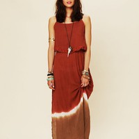 Free People Dream On Dip Dye Maxi Dress