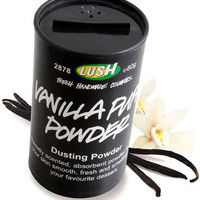 LUSH --  Personal Care Products: Vanilla Puff Dusting Powder (vegan, natural, aluminum-free, minimal packaging)