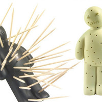 Ouch Toothpick Holder Voodoo Doll from Baron Bob