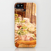 There Was a Party iPhone Case by Vargamari | Society6