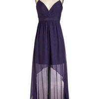 Max and Cleo Plum Here to Eternity Dress | Mod Retro Vintage Dresses | ModCloth.com