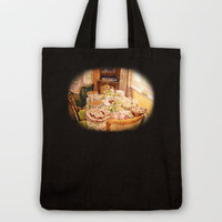There Was a Party Tote Bag by Vargamari | Society6