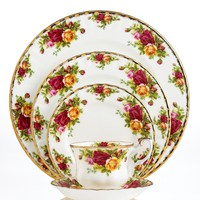 Royal Albert Old Country Roses Dinnerware Collection - Fine China - Dining &amp; Entertaining - Macy&#x27;s