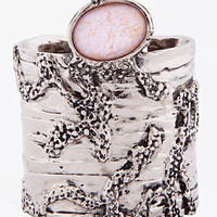 Yves Saint Laurent Pale Pink Arty Cuff for Women | SSENSE