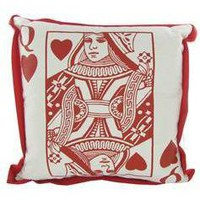 Queen of Hearts Pillow - Hobby Lobby