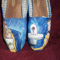 PERSONALIZED/CUSTOM TOM'S beauty and the beast by DJadeG on Etsy