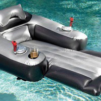 Motorized Inflatable Pool Lounger - Opulentitems.com