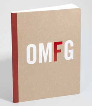 OMFG Notebook | Knock Knock OMFG Note Book | fredflare.com