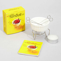 Mini Fondue Kit | Super Cute Miniature Fondue Kit | fredflare.com