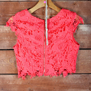 Rose Colored Glasses Crop Top