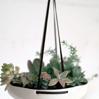 Faceted Hanging Planter | LEIF