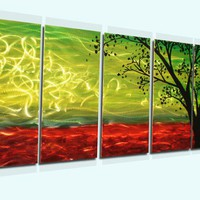 Africa - Modern Abstract Decor Metal Wall Art Panels by donghua